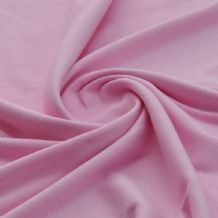 Baby Pink - Plain 100% Cotton Interlock Double Jersey